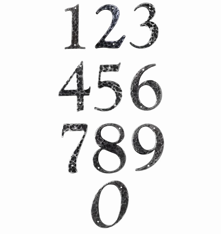 Number Fonts for Tattoos Fresh 74 Best Numbers Images On Pinterest
