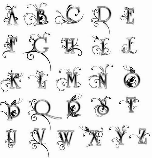 Number Fonts for Tattoos New Tattoo Fonts Handwriting
