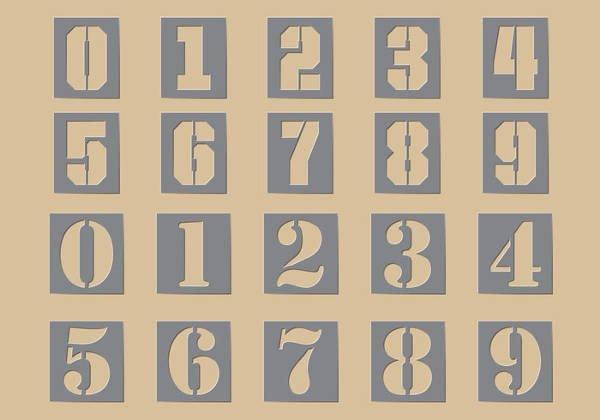 Number Templates to Print Elegant 8 Free Printable Stencils Free Pdf Jpg Png format