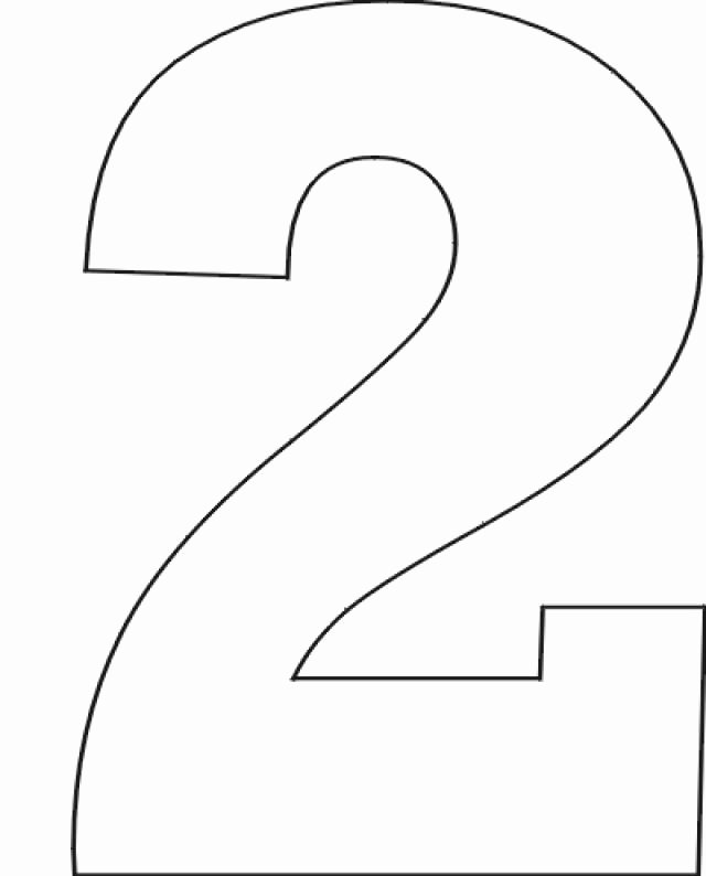 Number Templates to Print Free Awesome Number Stencils Set No 1 Education
