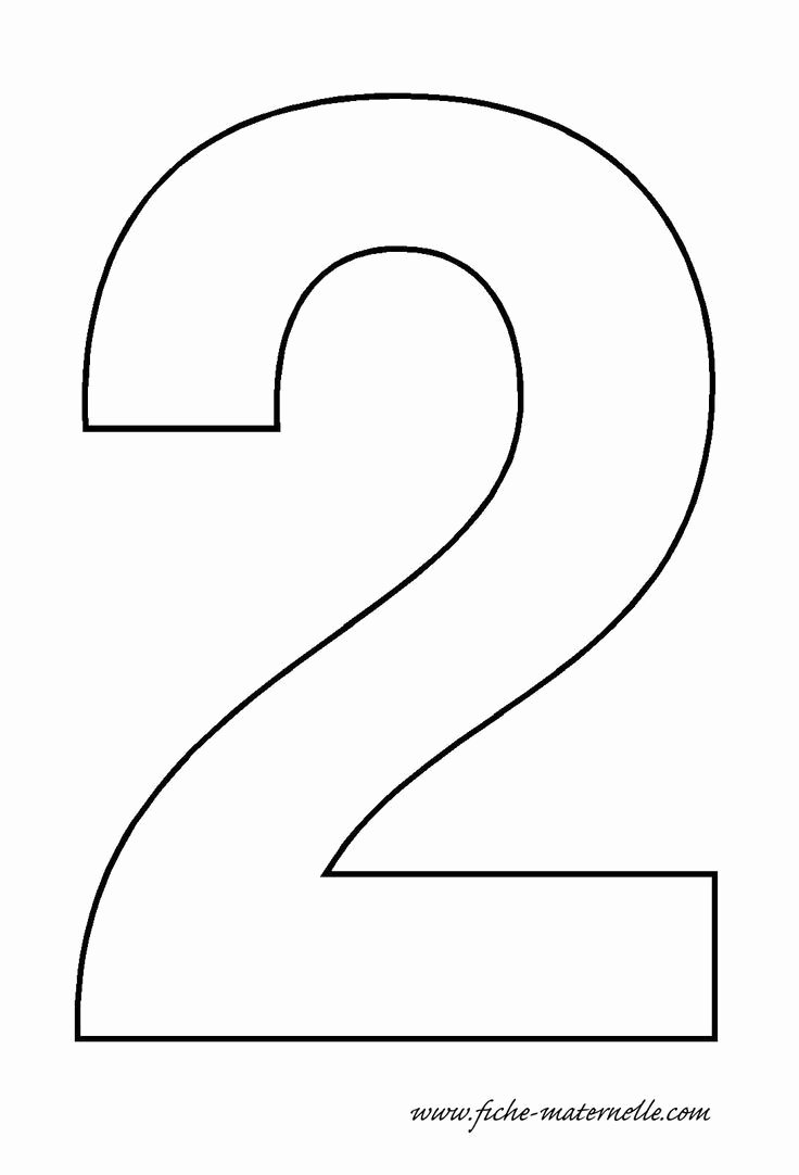 Number Templates to Print Free Unique Best 25 Preschool Number Crafts Ideas On Pinterest