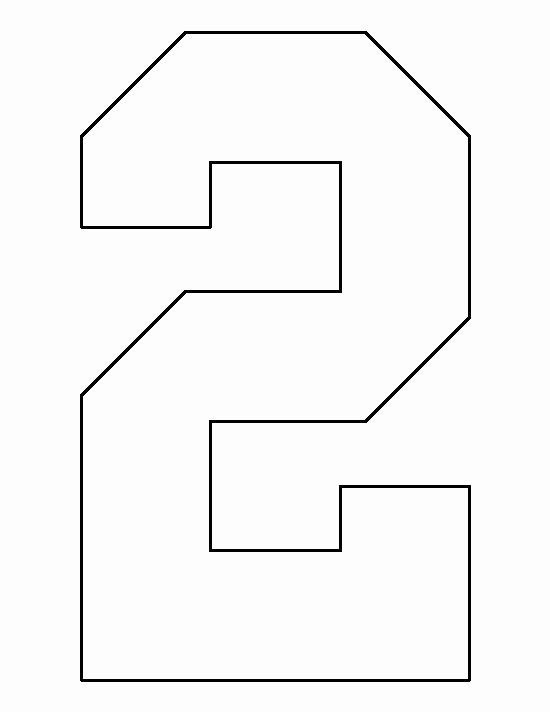Number Templates to Print Unique Pin by Muse Printables On Printable Patterns at