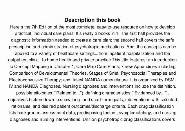 Nursing Diagnoses In Psychiatric Nursing Beautiful Download Nursing Diagnoses In Psychiatric Nursing Care