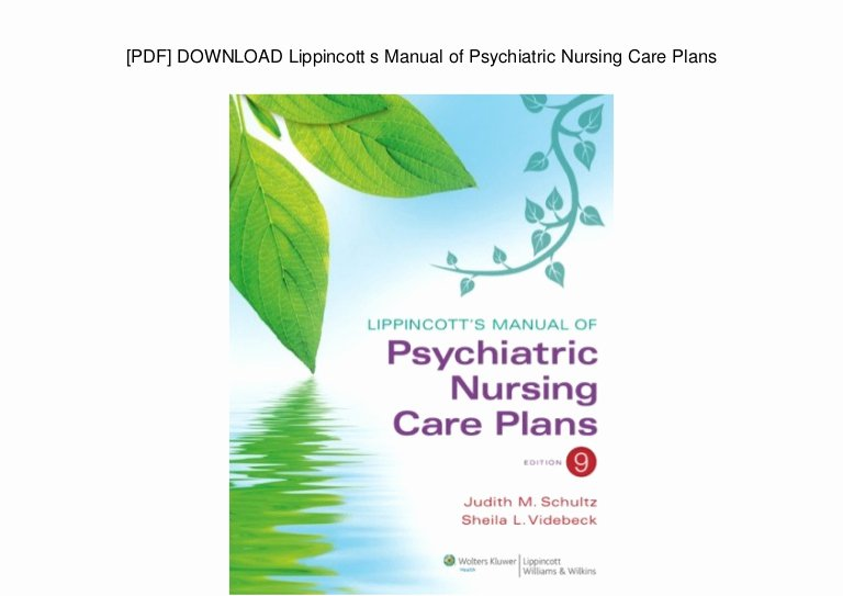 Nursing Diagnoses In Psychiatric Nursing Inspirational [pdf] Download Lippincott S Manual Of Psychiatric Nursing