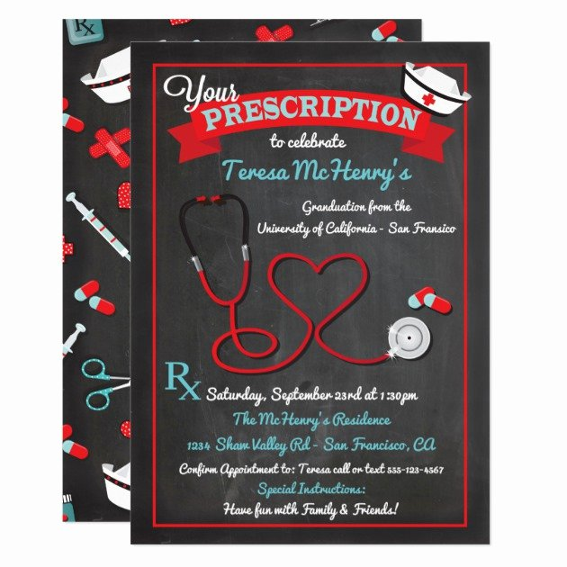 Nursing Graduation Invitation Templates Free Lovely Personalized Pinning Ceremony Invitations