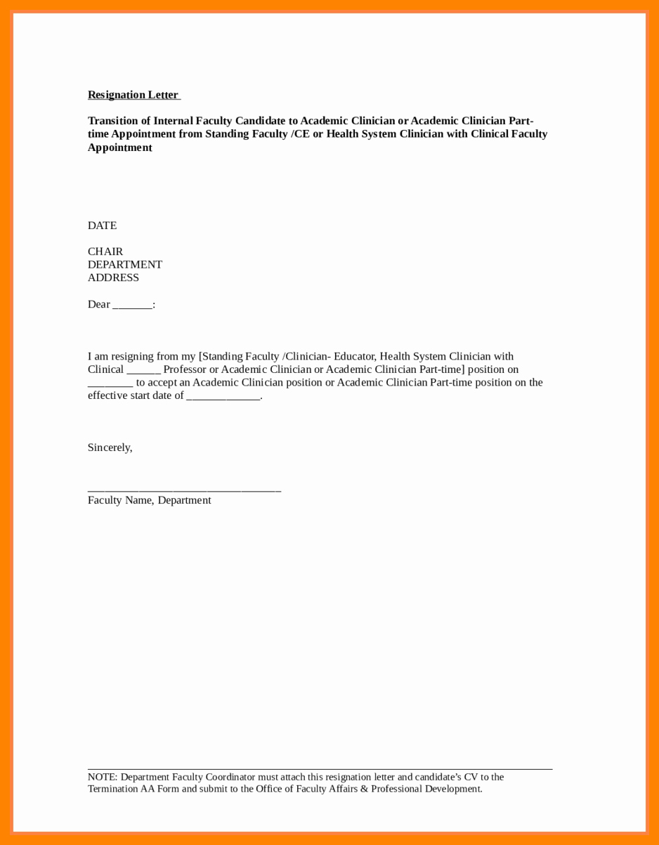 Nursing Letter Of Resignation Fresh 8 Registered Nurse Resignation Letter Sample