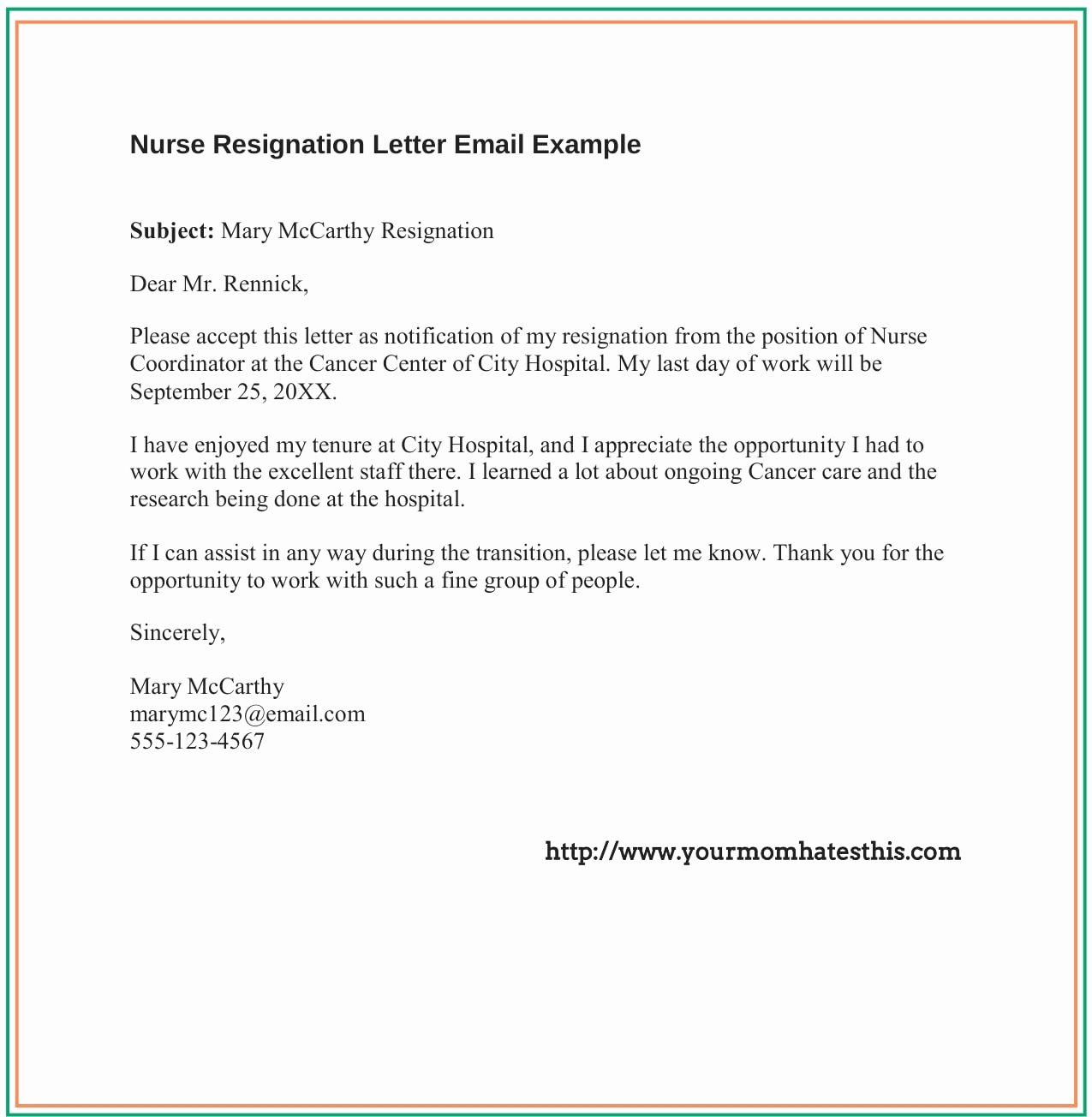 Nursing Resignation Letter Template Fresh Dos and Don'ts for A Resignation Letter