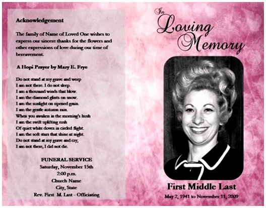 Obituary Template Google Docs Inspirational 10 Obituary Template Microsoft Word Free Download Teupt