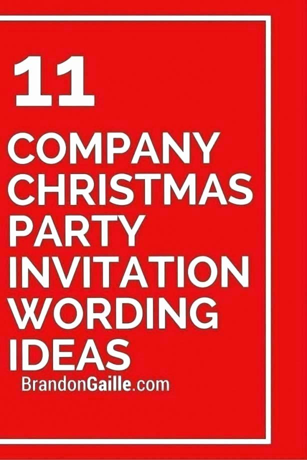 Office Potluck Invitation Wording Samples Lovely Christmas Party Invitation Card Sample – Tinajoathome