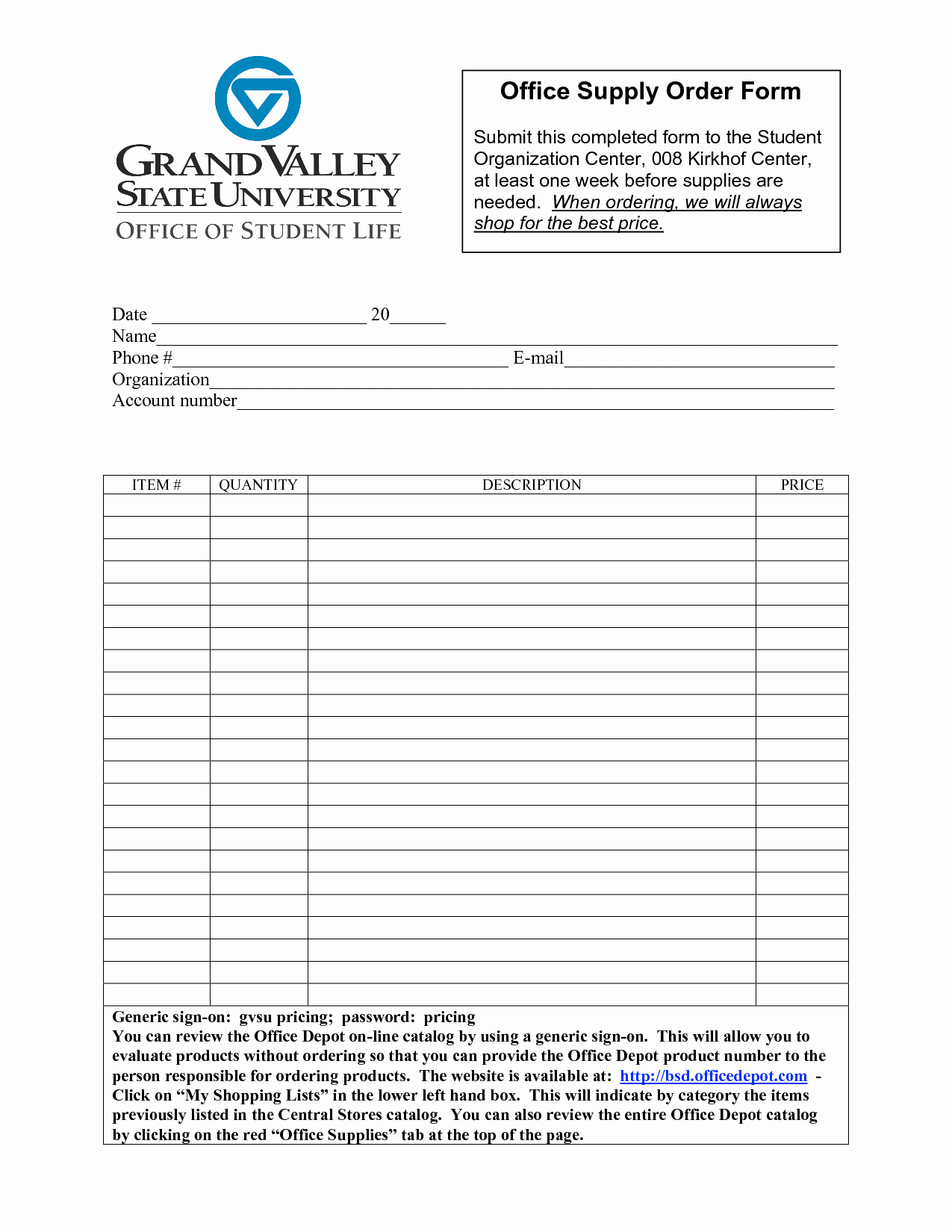 Office Supplies Request form Unique Best S Of Fice Depot forms Templates Fice