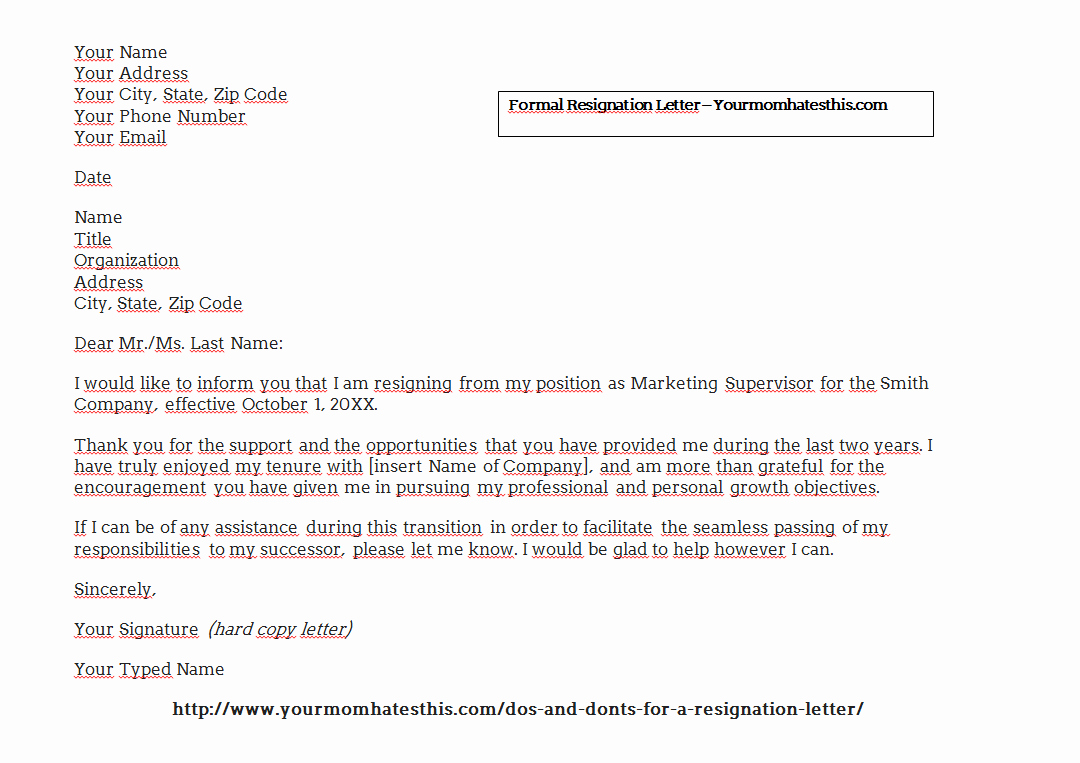 Official Letter Of Resignation Elegant Download Resignation Letters Pdf & Doc