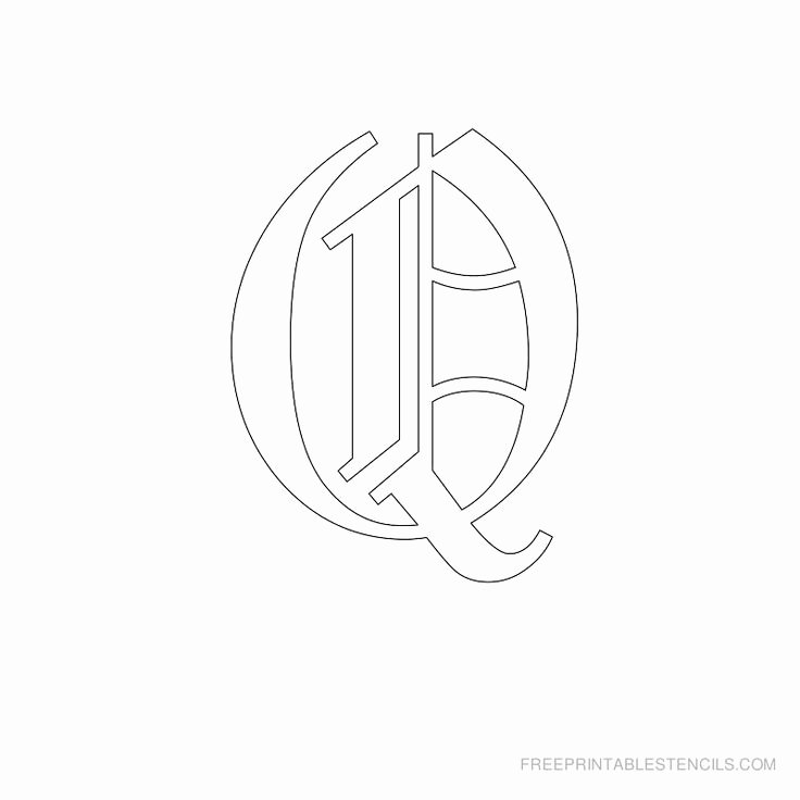 Old English Alphabet Stencils Awesome 17 Best Images About Old English On Pinterest