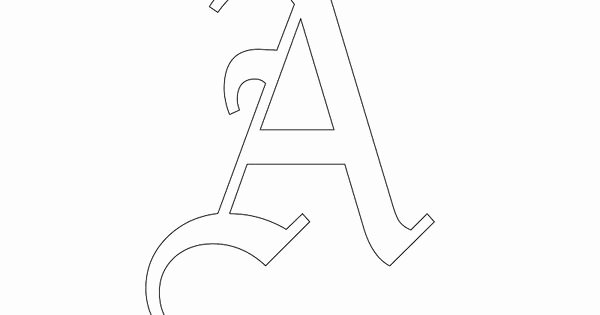 Old English Alphabet Stencils New Old English Letter Stencils and Free Printable Stencils