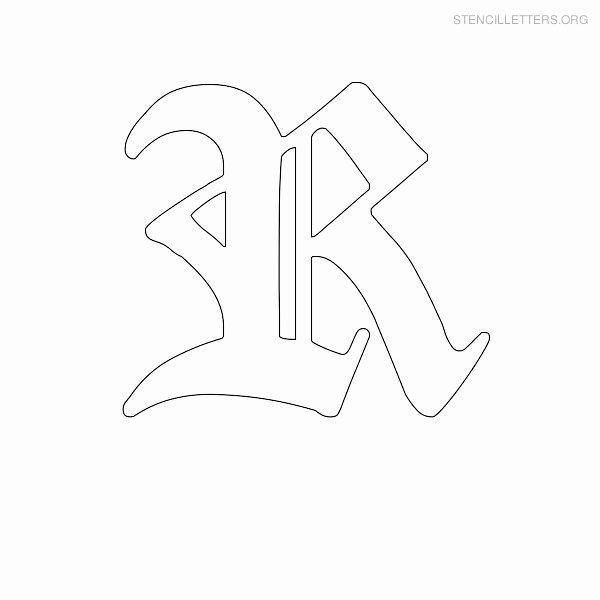 Old English Letter Stencils Elegant Old English Stencils Driverlayer Search Engine