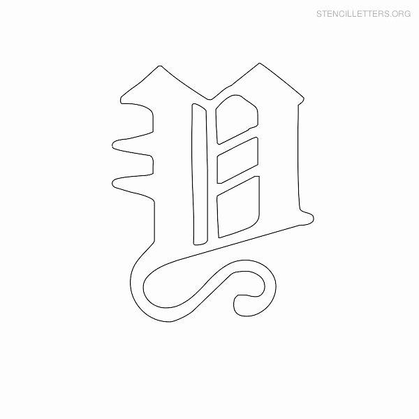Old English Letter Stencils Fresh Stencil Letters Y Printable Free Y Stencils