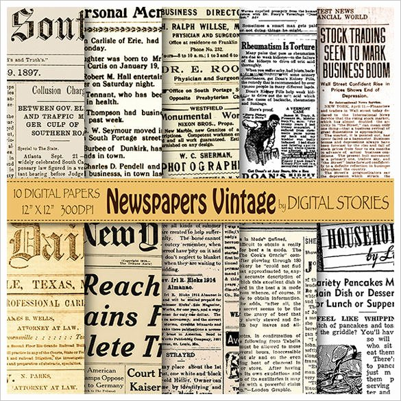 Old Newspaper Template Word Beautiful Old Newspaper Template