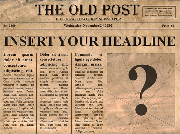 Old Newspaper Template Word Elegant Newspaper Template 19 Download Free Documents In Pdf