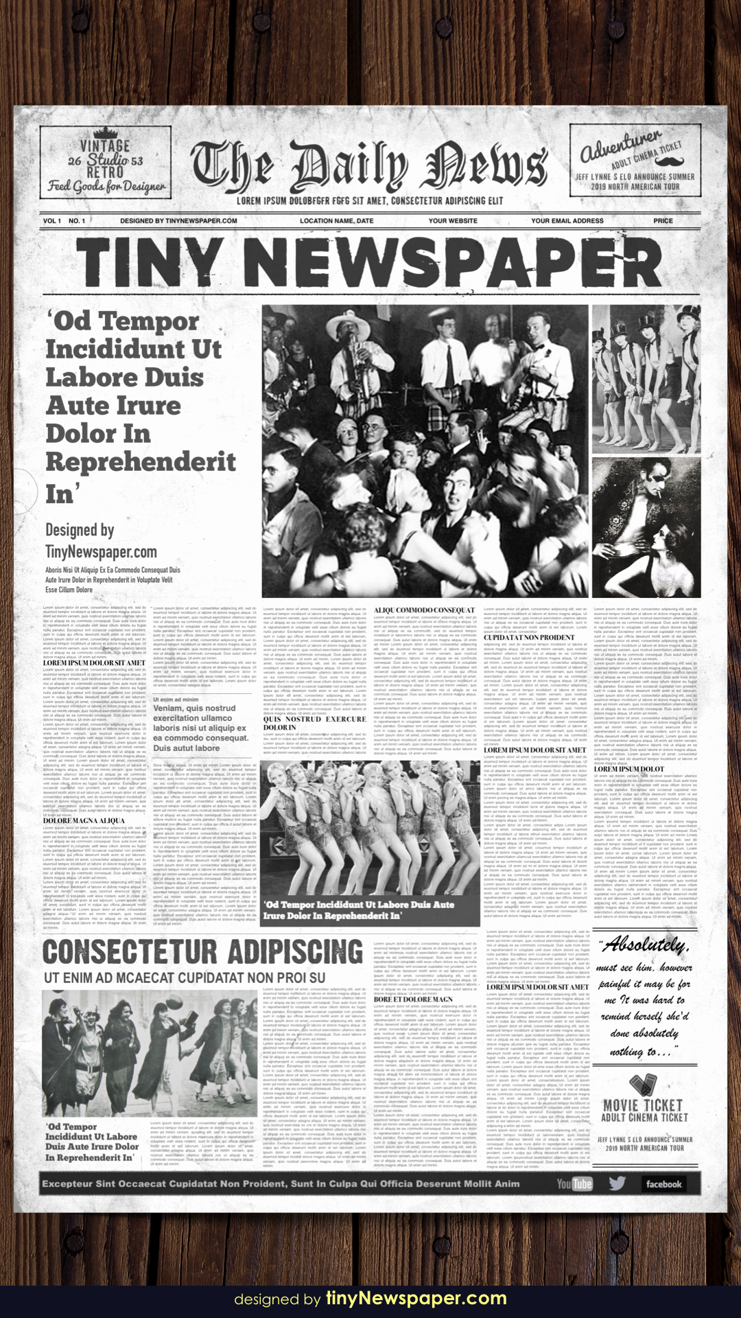 Old Newspaper Template Word Fresh 1920 S Vintage Newspaper Template Word