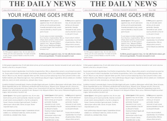 Old Newspaper Template Word Lovely Newspaper Headline Template 12 Free Word Ppt Psd Eps