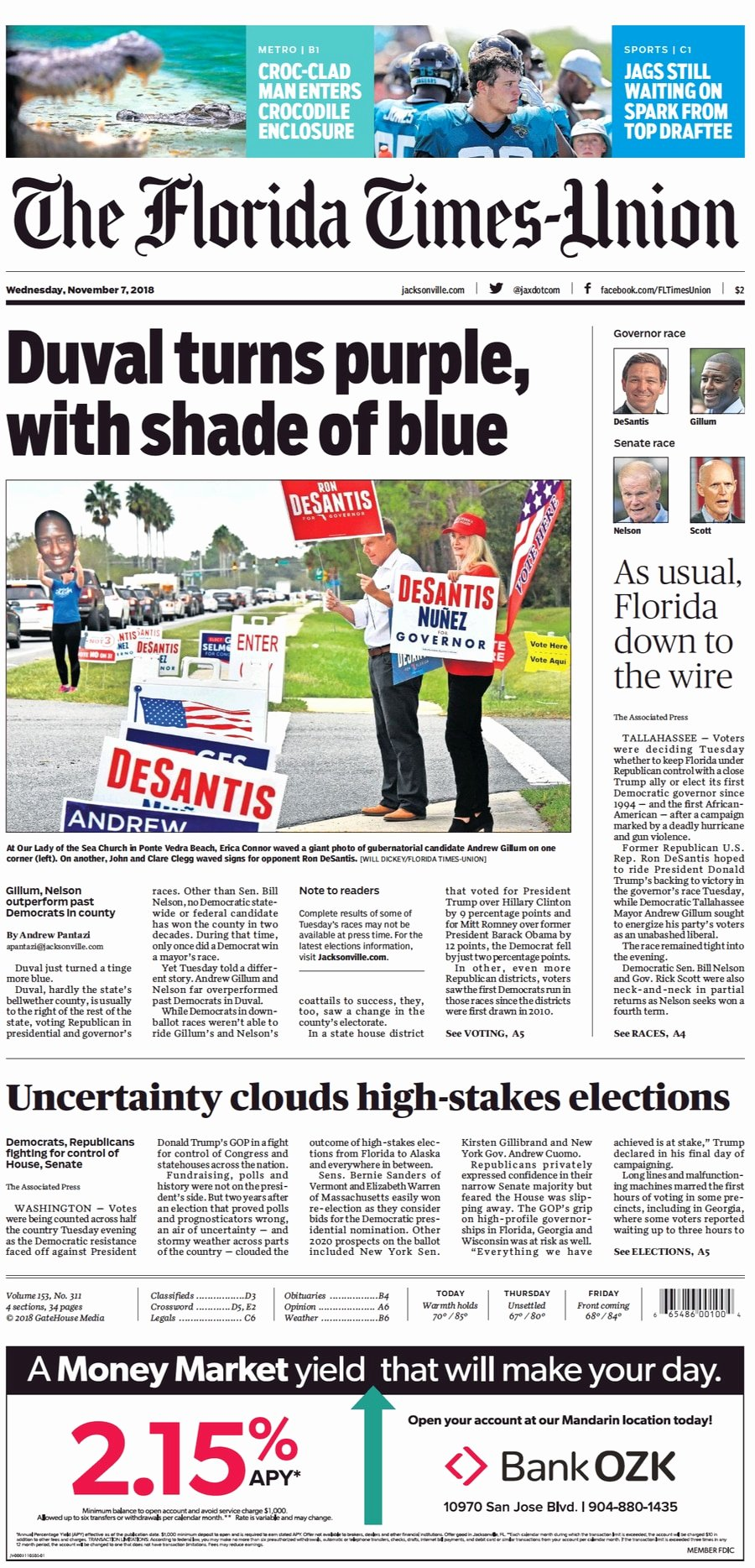 Old Newspapers Front Page Elegant Newspaper Front Pages Across Florida Chronicle the