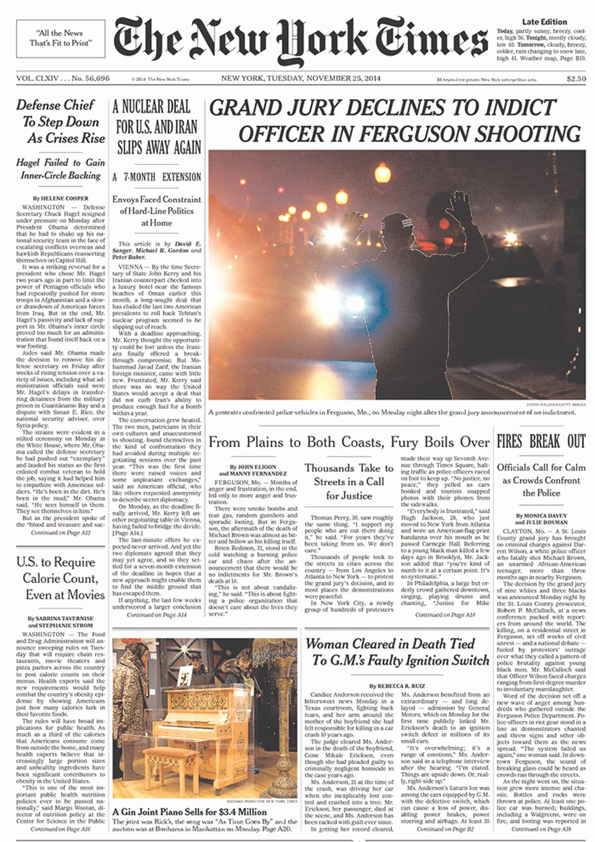 Old Newspapers Front Page Unique Here S How Us Newspaper Front Pages are Covering Ferguson