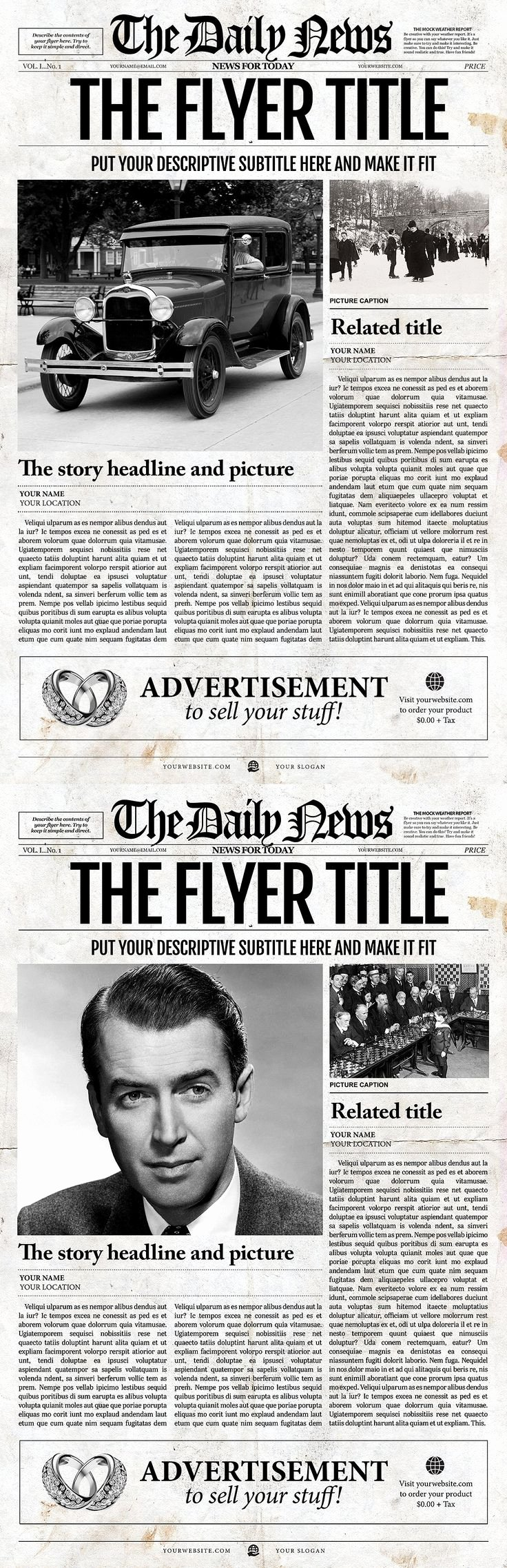 Old Newspapers Front Page Unique Newspaper Front Pages On Pinterest