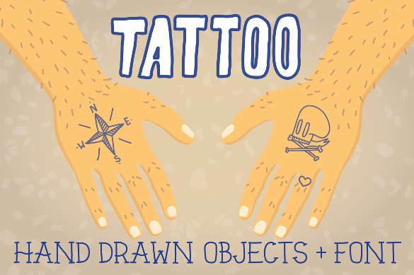 Old School Tattoo Font Lovely 16 Cool Tattoo Fonts Otf Ttf