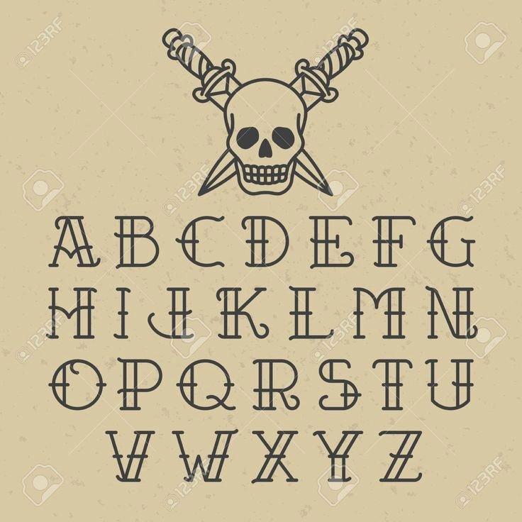Old School Tattoo Font Unique Best 25 Old School Fonts Ideas On Pinterest