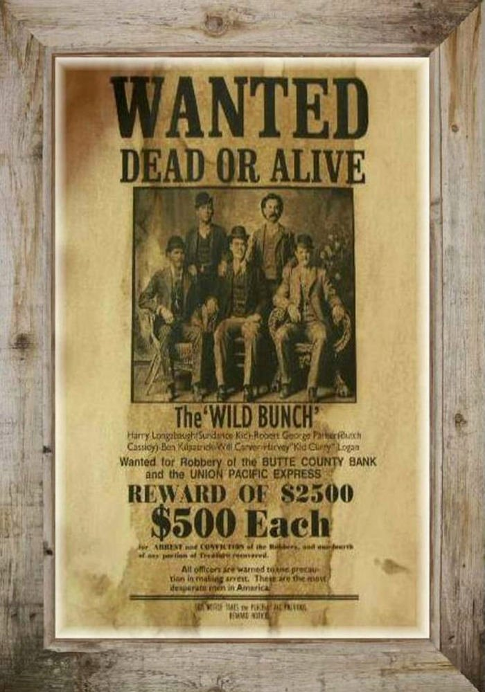 Old West Wanted Sign Awesome Magnet Vintage Old West Wanted Dead or Alive Poster Wild