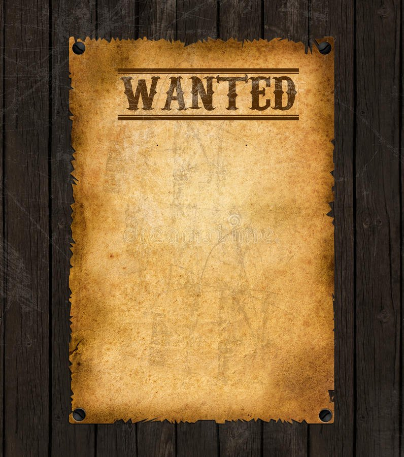 Old West Wanted Sign Inspirational Old Western Wanted Poster Stock Image Image Of America