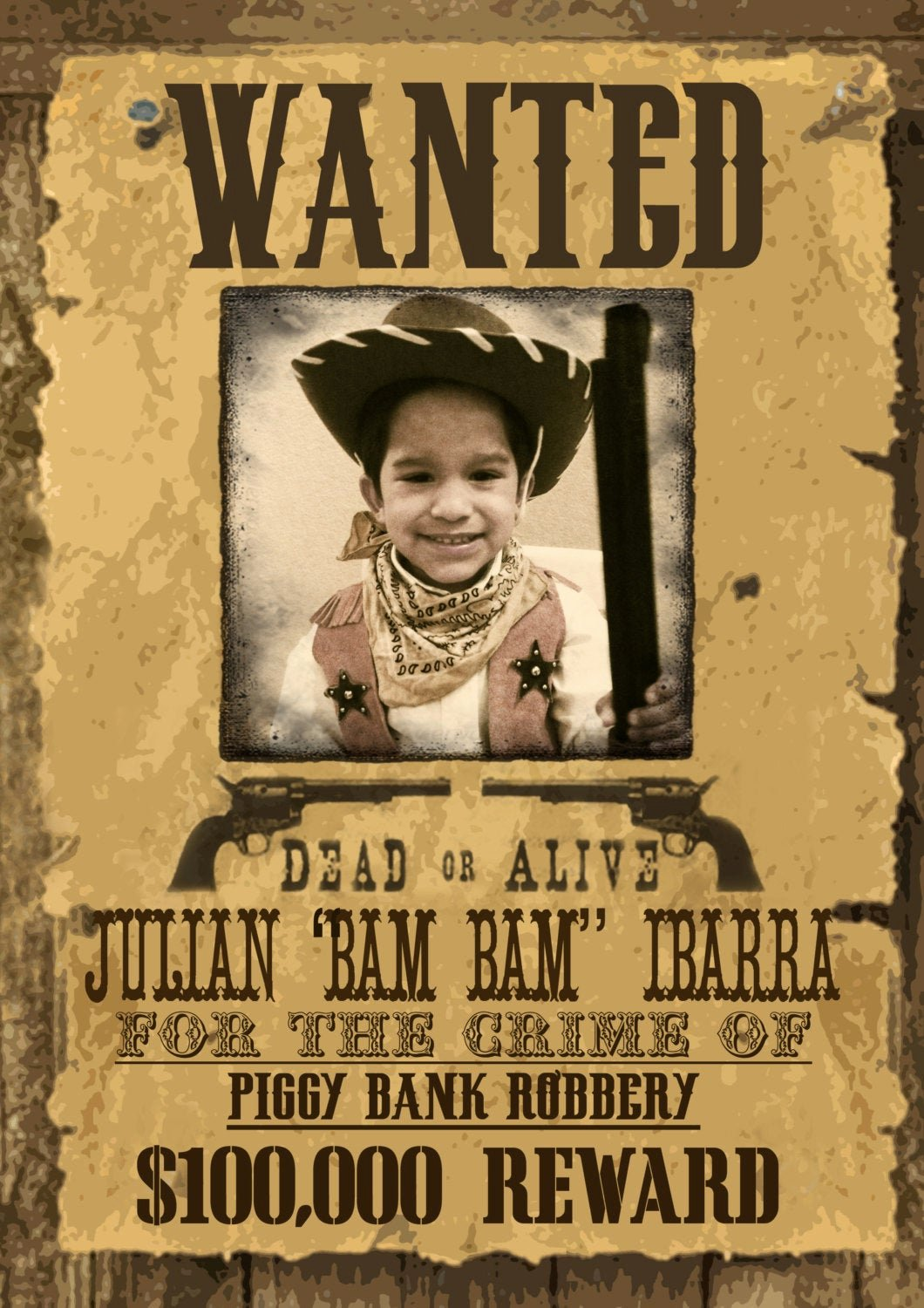 Old Western Wanted Poster Lovely Wild West Wanted Poster Printable