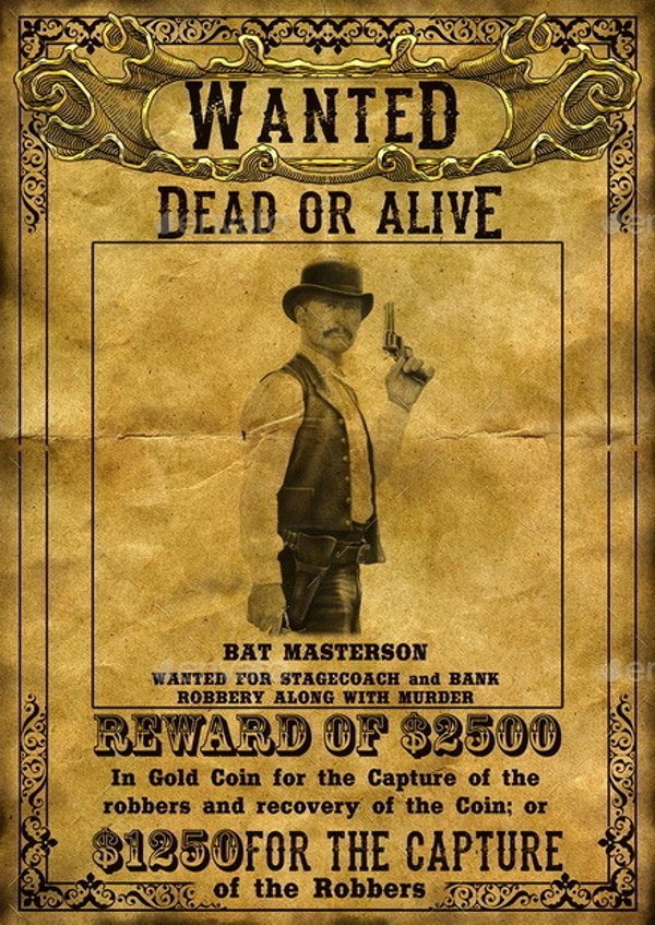 Old Western Wanted Poster Unique 14 Wanted Poster Designs and Examples Psd Ai