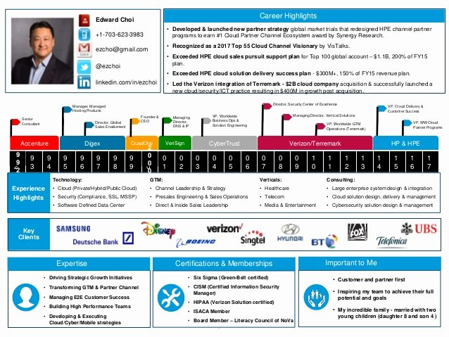 One Page Executive Summary Sample Fresh E Page Visual Executive Summary Resume