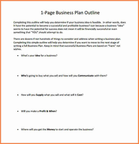 One Page Project Proposal Template Best Of 6 One Page Business Proposal Example