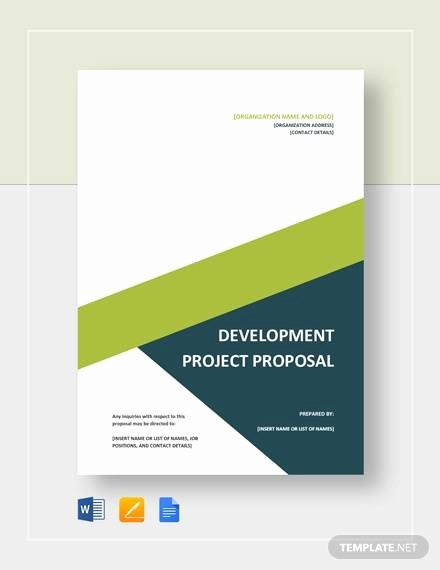 One Page Project Proposal Template Best Of Free 22 Sample Project Proposal Templates In Google Docs