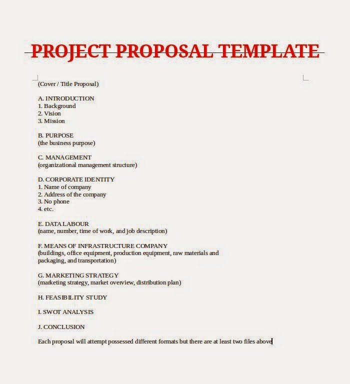 One Page Project Proposal Template Elegant April 2015 Samples Business Letters