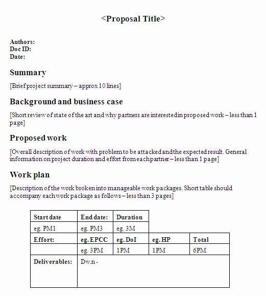 One Page Project Proposal Template Luxury English for Writing Research Papers Pdf Apa Research