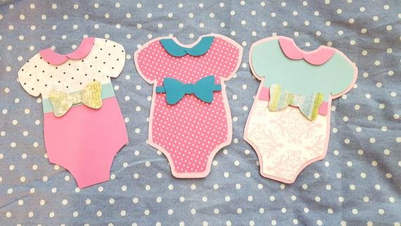 Onesie Paper Cut Out Inspirational Baby Girl Esie Cut Outs Sie Paper Crafts by