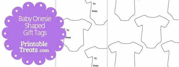 Onesie Template for Baby Shower Awesome Here is A Blank Baby Onesie Shaped T Tags Template You