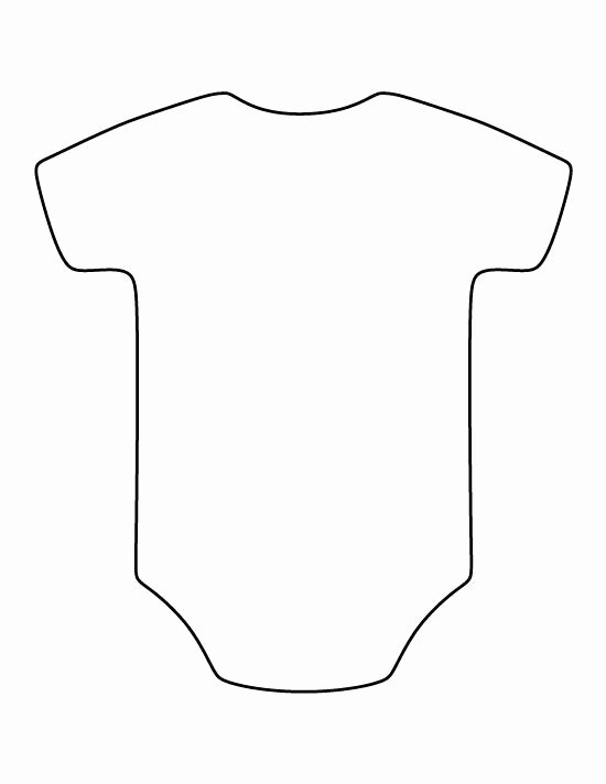 Onesie Template for Baby Shower Awesome Pin by Brid T Cook On Shower