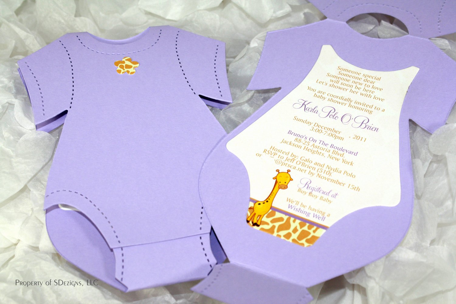Onesie Template for Baby Shower Lovely Esie Invitation Templates