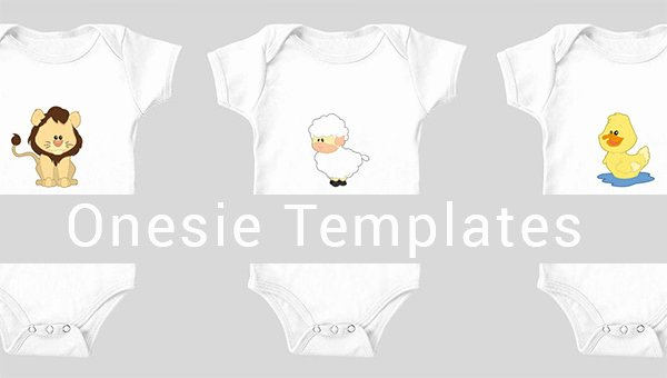 Onesies Template Printable Free Lovely 10 Esie Templates & Designs Files
