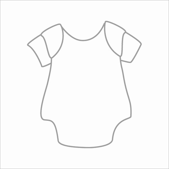 Onesies Template Printable Free Lovely 20 Esie Templates Psd Pdf