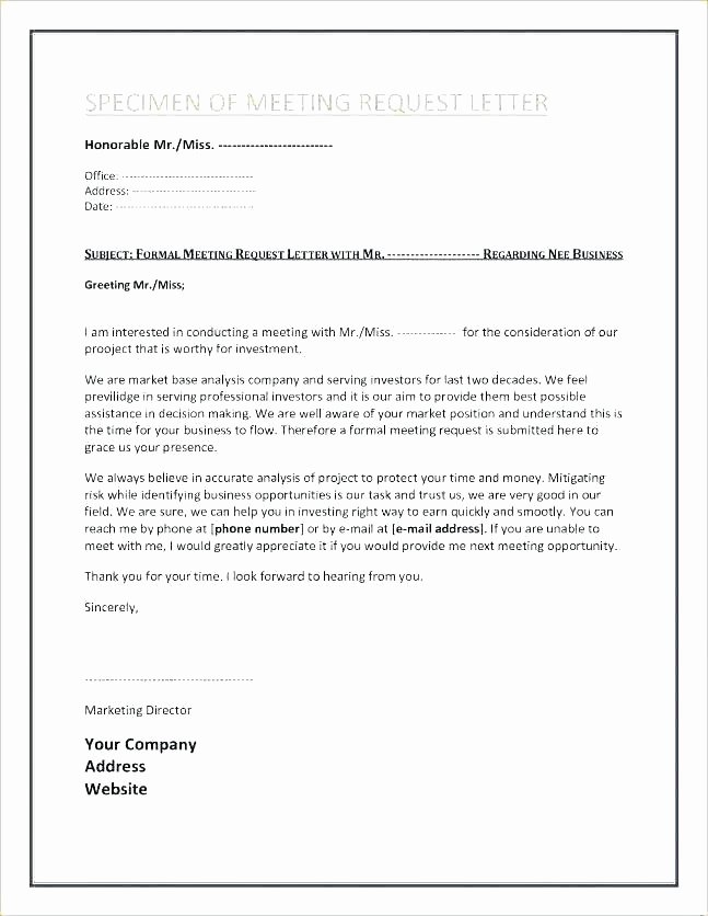 Outlook Meeting Invite Template Awesome Professional Meeting Invite Template
