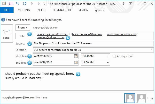 Outlook Meeting Invite Template Fresh How to Schedule A Conference Call Using Your Outlook