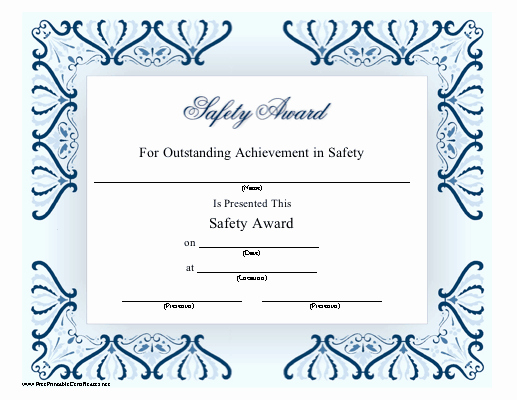 Outstanding Achievement Award Template Beautiful This Printable Certificate Honors Outstanding Achievement