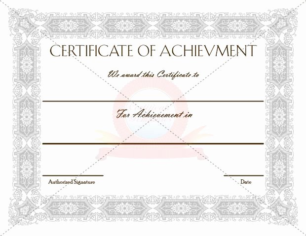 Outstanding Achievement Award Template Fresh 20 Best Images About Achievement Certificate Templates On