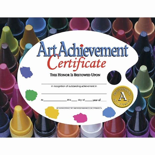 Outstanding Achievement Award Template Unique Shop the Hayes Art Achievement Certificate 6 Packs Of 30