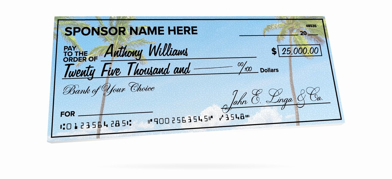 Oversized Check Template Free Awesome Custom Giant Checks for Donations events & More