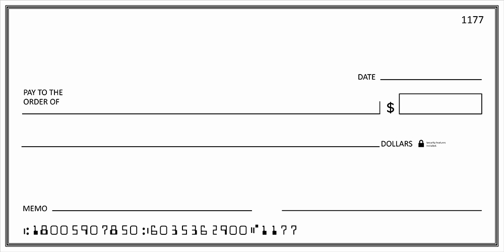 Oversized Check Template Free Best Of Big Checks Presentation Checks